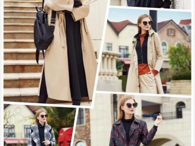 国内知名时尚巴丽景&娅尼蒂澌女装折扣店货源走份批发