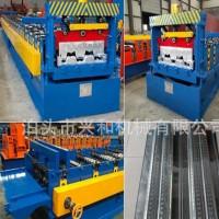 兴和彩钢供应建筑屋顶全自动750楼承板压瓦机