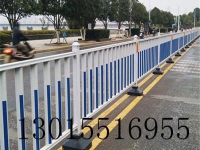 长葛京式道路护栏 城市交通护栏 马路隔离护栏新力护栏厂家