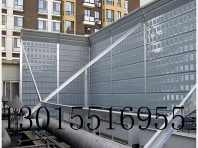 信阳空调机组声屏障 金属声屏障 新力隔声屏障厂家定制安装