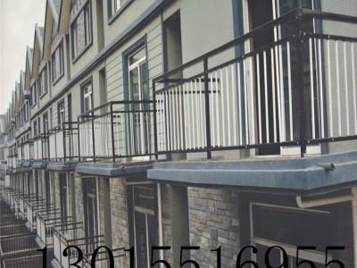 孟津锌钢阳台护栏 飘窗防护栏 新力金属生产厂家