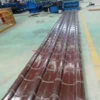彩钢琉璃瓦生产厂家 765型彩钢仿古琉璃瓦加工销售