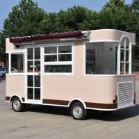 德州民贺餐车专业定制小吃车电动餐车移动售货车