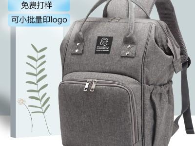 广州工厂直销新款妈咪包多功能母婴包定制妈妈包双肩包