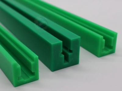 食品包装机械链条导轨 绿色高分子耐磨链条导轨