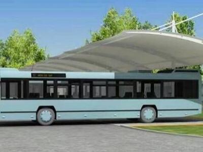 荆州公交车充电防雨棚 荆州室外停车场遮雨棚