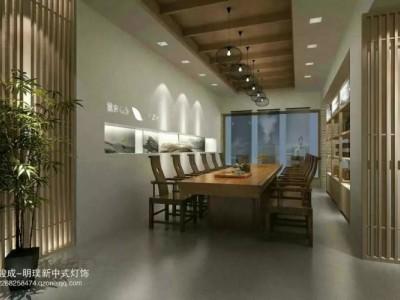 新中式灯具 客厅 简约现代 吊灯 仿古新中式吊灯订制