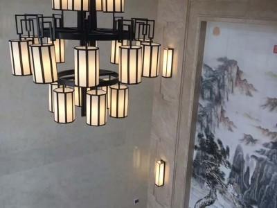 中国风大气复古灯具 现代简约新中式吊灯定做