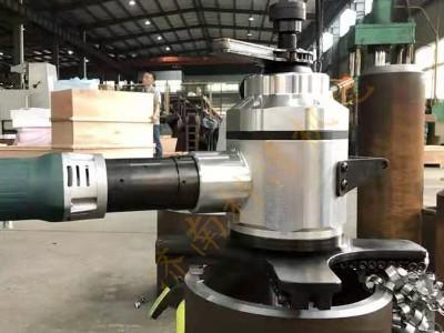 管子平面倒角机 平口机 薄管切坡口小型移动式管子坡口机