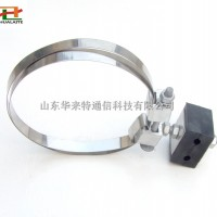 1.2米钢带式引下线夹 绝缘型引下线夹杆用光纤固定夹 现货
