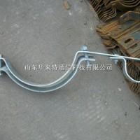 定制子母抱箍 光缆保护管夹具 杆用紧固件型号齐全可定做