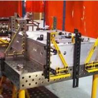 现货销售三维柔性焊接平台 铸铁焊接工装工作台