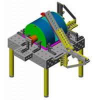 储存罐体结构件焊接 三维柔性焊接平台加工