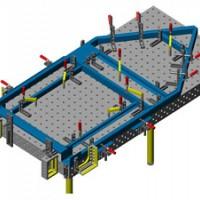 钣金框架结构件焊接 精密钣金加工