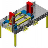 钣金结构件组立焊接 三维柔性工装夹具加工