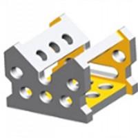 角型连接块用于高度定位或平台拓展及其它附件的定位或压紧