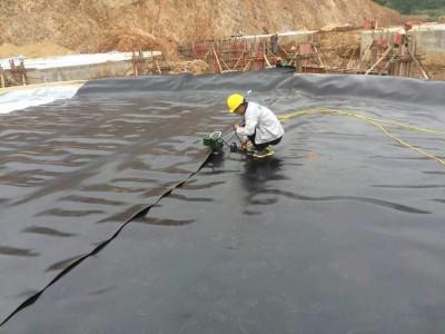 野狼社区必出精品直销土工膜水产养殖沼气池蓄水池专用防渗土工膜