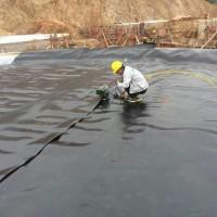 厂家直销土工膜水产养殖沼气池蓄水池专用防渗土工膜