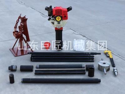 QTZ-1手持式地质勘探钻机 野外高效取芯取样省时更省力