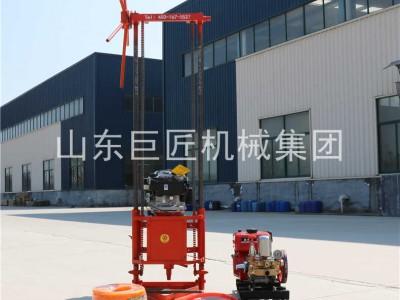 25米小型地质勘探钻机 汽油型轻便取样钻机 浅层岩心钻机