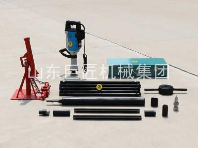 巨匠QTZ3D小型勘探取样钻机电动取土钻机 轻便土壤取芯钻机