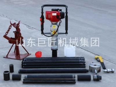 20米取土钻机qtz-3野外取土样器单人可操作