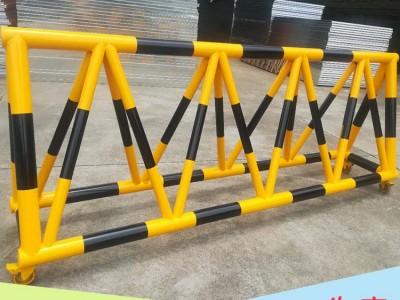 防撞三角拒马护栏 道路临时检查挡车器 厂家专业定制不易生锈