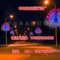 LED中国结造型景观灯亚克力发光中国结路灯