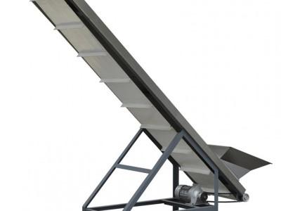 BLT布料提升输送机食品生产用PVC输送设备