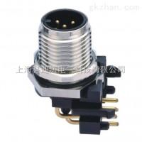 PCB电路板弯角航空插座