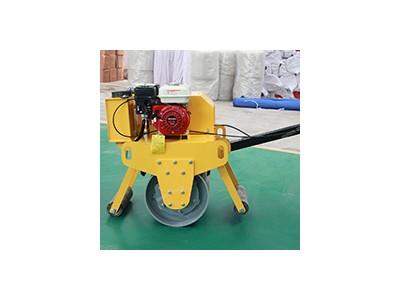 手扶式单钢轮汽油压路机 小型路面压实机 手扶压路机