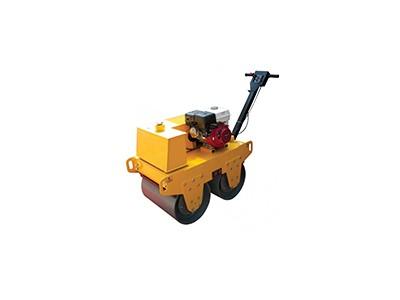 双钢轮汽油压路机 手扶式小型压路机 沟填回槽压实机
