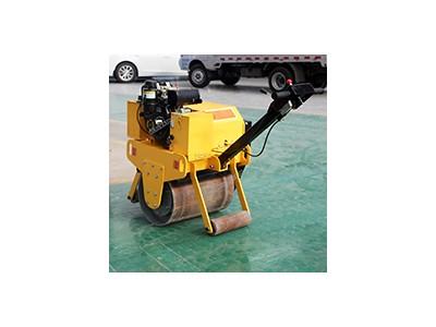 700型手扶式单钢轮振动压路机 柴油压路机 路面压实机