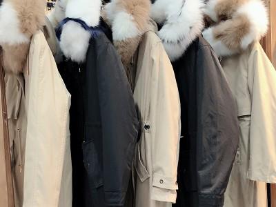 【蒂尔斯】19冬季獭兔毛派克服 品牌折扣女装批发走份