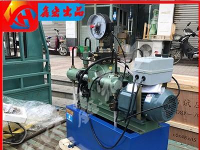 手提式电动试压泵 水管道试压机打压泵打压机测压机