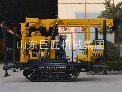 巨匠XYD-130全液压履带钻机履带式全液压钻机百米钻机