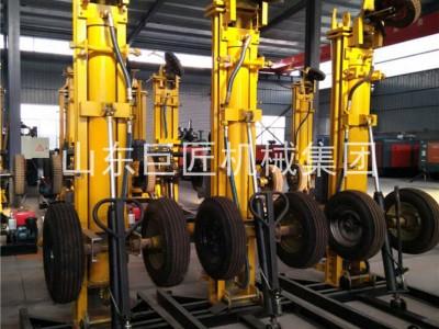 巨匠集团供应KQZ-180D气动打井机打井速度快工作效率高