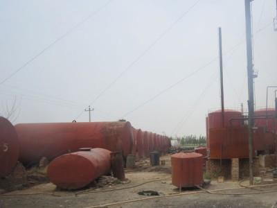 长期回收废甲醇