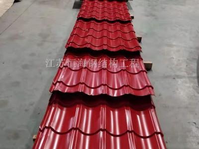防腐彩钢琉璃瓦压型厂家江苏恒海