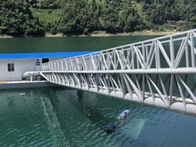 取水泵船安装结构优势