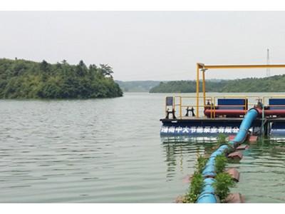 取水泵船设计方案找湖南中大 浮船泵站