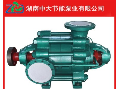 MD600-60*9耐磨多级泵主要零件材质