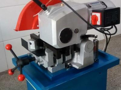 江西上饶330半自动切管机 多角度钢管切割机 铜铝钢管斜切锯
