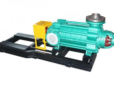 长沙水泵厂D120-50X4卧式多级泵安装事项