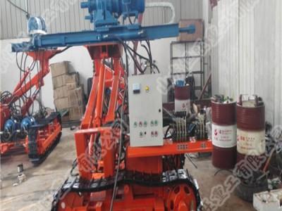 岩石电钻  履带式岩石电钻  履带式锚固工程钻机