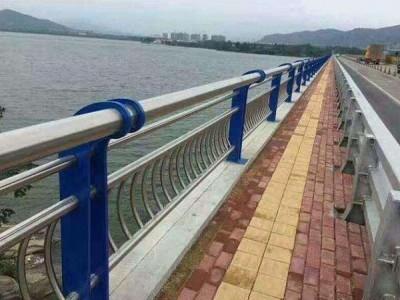 上蔡桥梁护栏 景观护栏 河道栏杆新力护栏定制安装