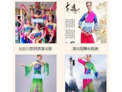 年会舞台演出服装古典现代舞蹈演出服