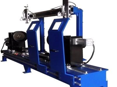 环缝焊接设备厂家直销 管道法兰卧式环缝焊接机