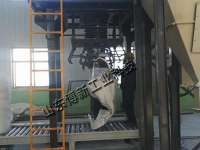 水泥熟料吨包秤、吨袋包装机供应商