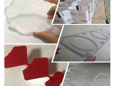 透明PC板切割加工 PC板雕刻打孔加工